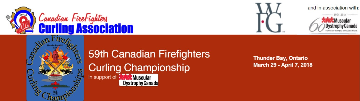 Canadian Firefighters Curling Ch'ship Results @ Port Arthur Curling Club   Thunder Bay   Ontario   Canada