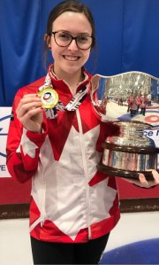 World Champion Lauren Lenentine on CBC Radio Tuesday morning