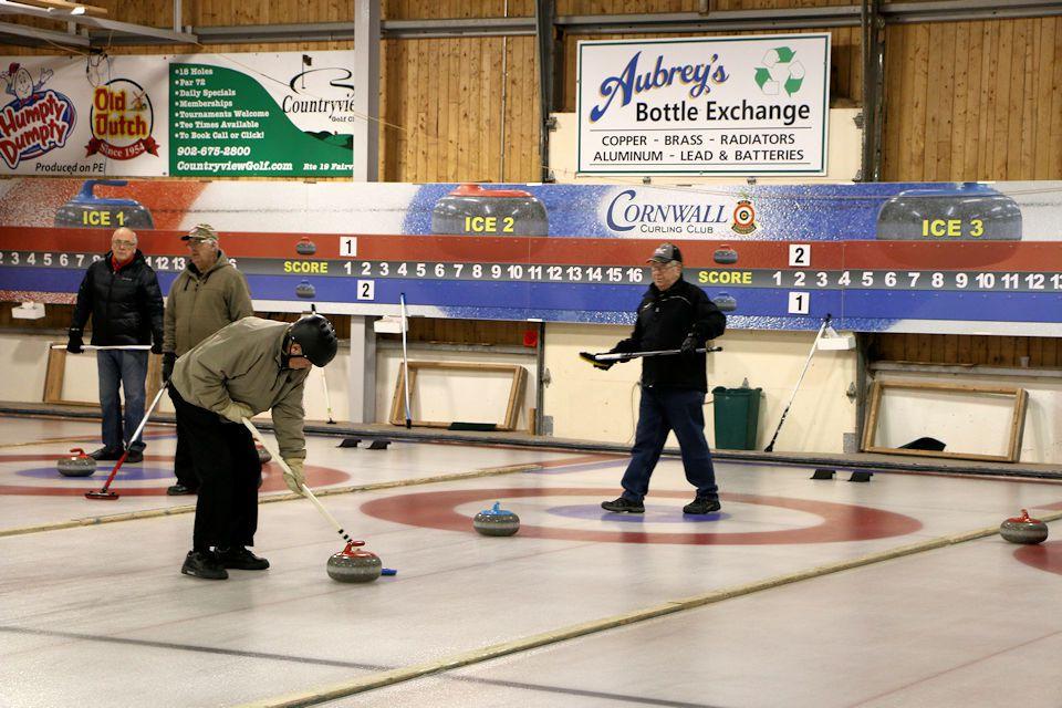 Maritime Stick Curling Ch'ships @ Cornwall Curling Club | Saint Catherines | Prince Edward Island | Canada