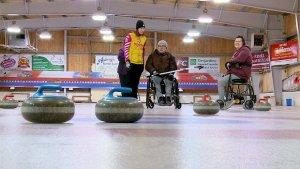 Wheelchair curler seeking teammates: Wheelchair/Visually Impaired curling event held (CBC PEI)