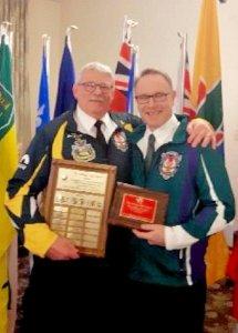 Gordon MacFadyen wins Aubrey Neff Sportsmanship award at Canadian Firefighters