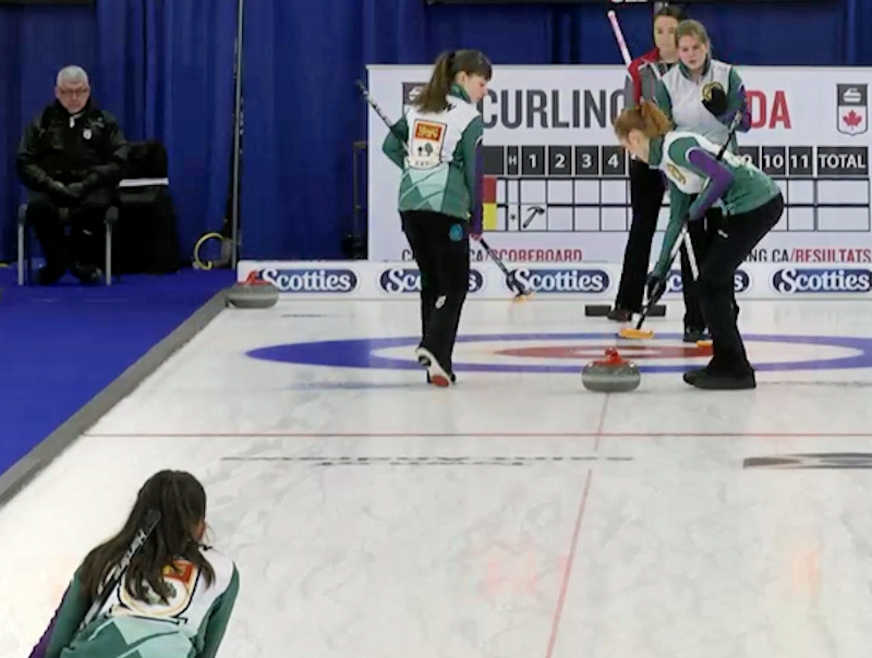 PEI's Team Ferguson finishes with a pair of wins, just misses playoff round at U18 nationals (Curling Canada)