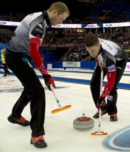 Team Canada sweeps Tuesday games at World Men's Championship (Curling Canada)