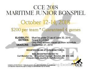 CCE Maritime Junior Bonspiel