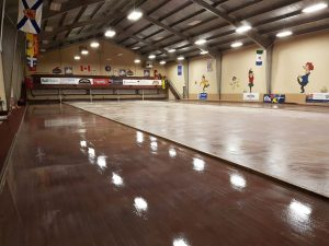 Curling facilities startup continues