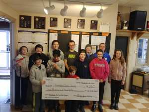 Montague Juniors raise $775 in Junior Curl for Cancer