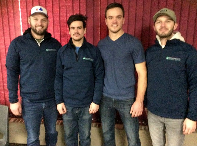 Steve vanOuwerkerk rink wins Island Petroleum Cashspiel at the Silver Fox