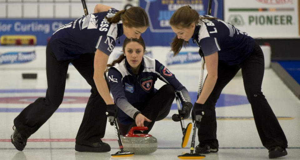Jones (NS with PEI's Lenentine), Smith (PEI) battle to wins in Draw 3, Ferguson now 0-2, at New Holland Juniors (Curling Canada)