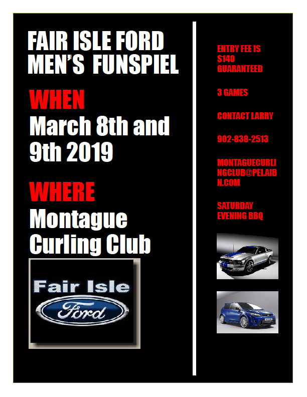 Fair Isle Ford Men's Funspiel @ Mayflower Curling Club