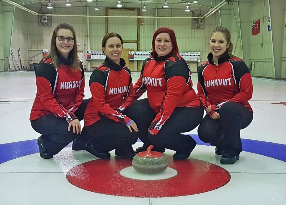 Team Nunavut, including Islander Alison Griffin, ready for the Scotties (Nunatsiaq News)