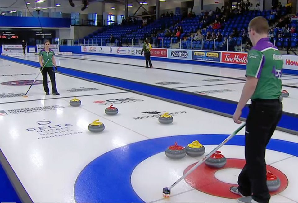 Gallant/Peterman still perfect, O'Connor/Abraham pick up win over Tuck duo at Cdn. Mixed Doubles (Curling Canada)