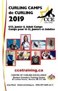 CCE U12, Junior, Adult Curling Camps @ Curl Moncton | Moncton | New Brunswick | Canada