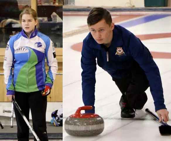Ferguson/Schut playing in Curling Canada U18 Mixed Doubles Test event starting Friday noon