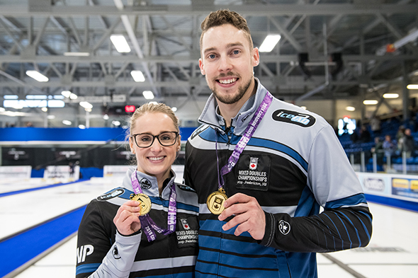 World Mixed Doubles with Jocelyn Peterman and PEI's Brett Gallant, plus World Seniors start Saturday in Norway (Curling Canada)