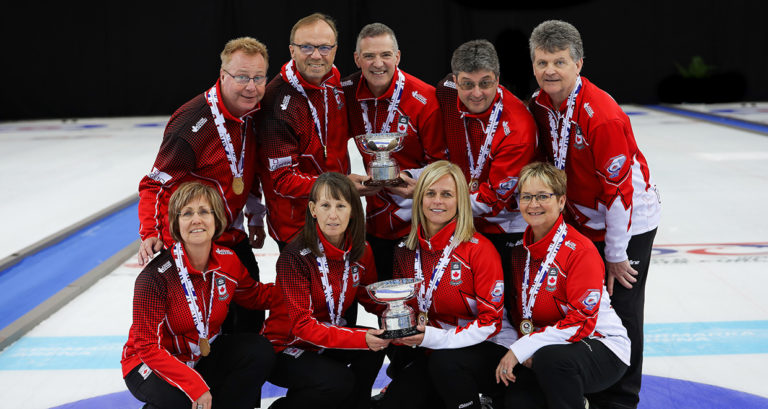 Double gold for Canada, including 2 Islanders, at World Senior Curling Championships (Curling Canada)