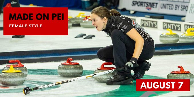 Sport PEI Made on PEI Female Style with curler Lauren Lenentine @ House of Sport (Sport PEI)