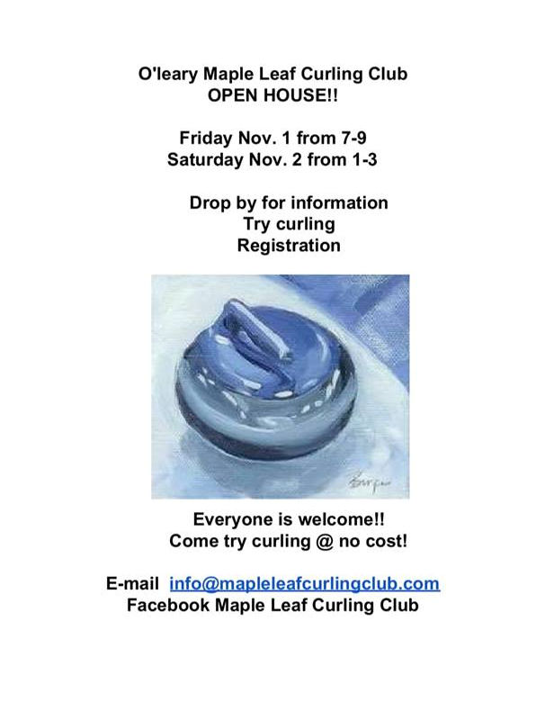 Maple Leaf Curling Club Open House/Free Try Curling @ Maple Leaf Curling Club