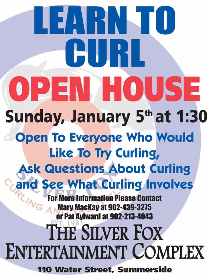 Learn to Curl Open House @ Silver Fox Curling and Yacht Entertainment Complex