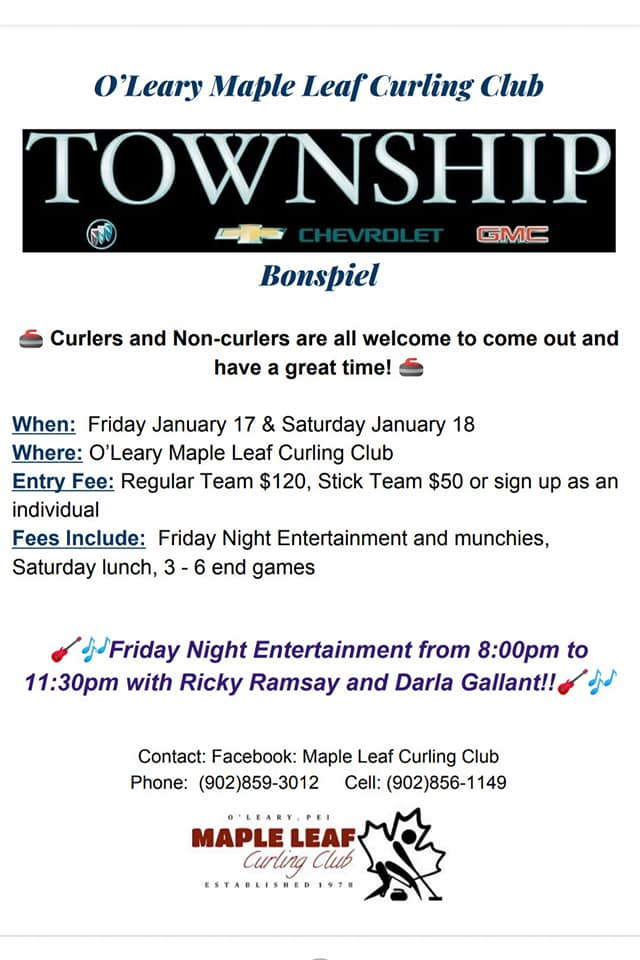 Township Chevrolet GMC Bonspiel @ Maple Leaf Curling Club