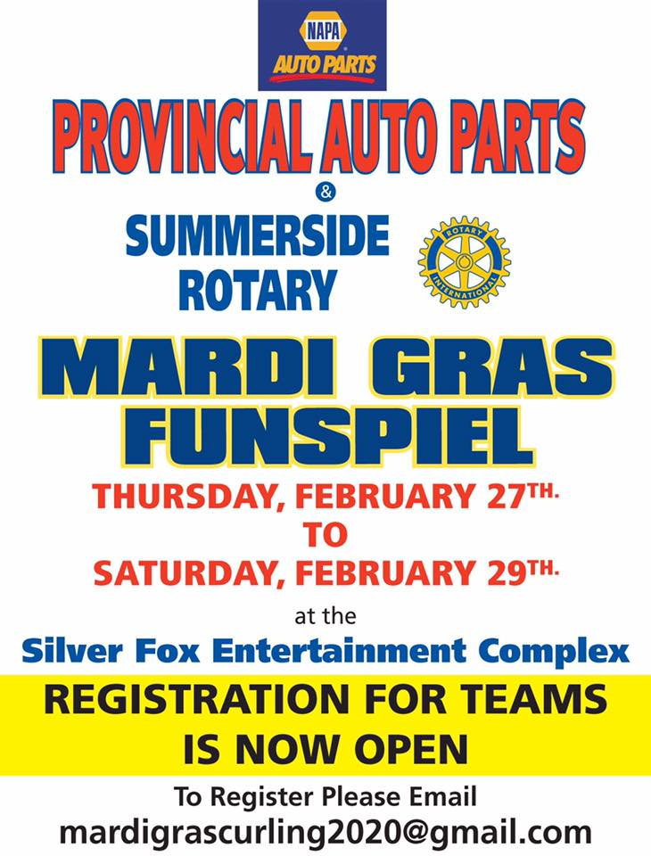 Annual Mardi Gras Funspiel @ Silver Fox Curling and Yacht Entertainment Complex