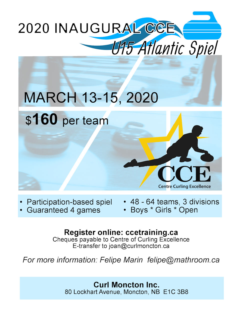 U15 Atlantic Spiel @ Curl Moncton