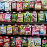 Japanese Candies in Taiwan