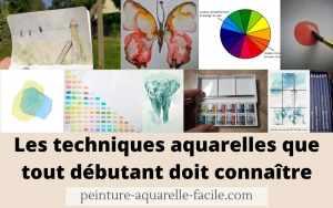 Read more about the article Les techniques aquarelles que tout débutant doit connaitre