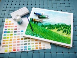 Débuter l'aquarelle : par où commencer ?