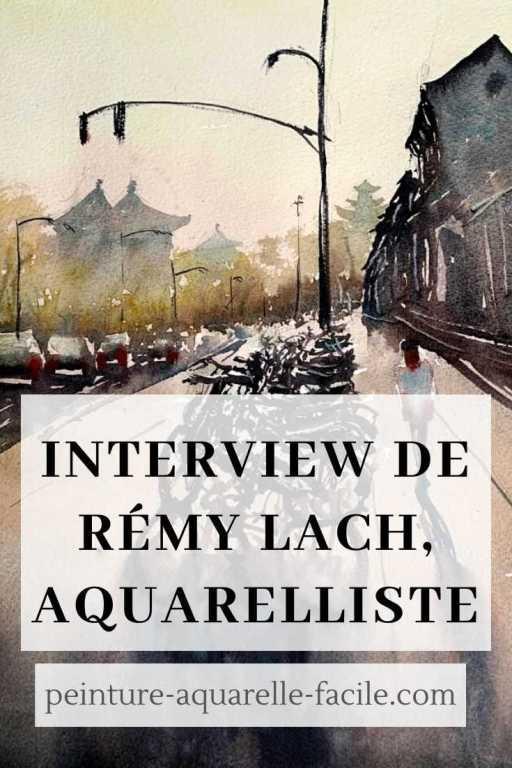 Aquarelliste Rémy Lach Pinterest