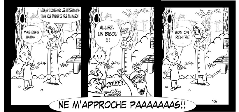 Strip de bande dessinée