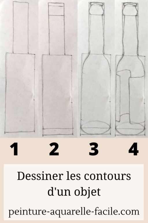 Les bases du dessin : dessiner les contours en 4 étapes