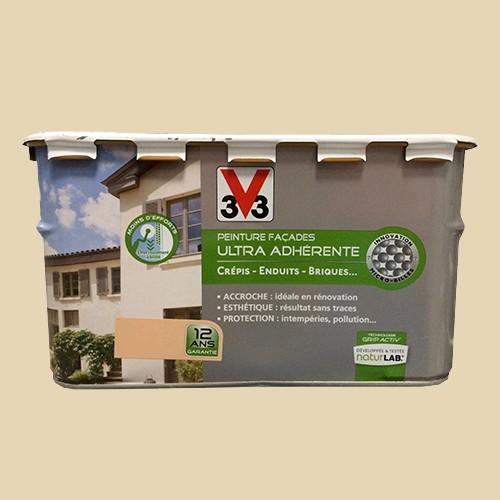 peinture v33 facade ultra adherente ton pierre