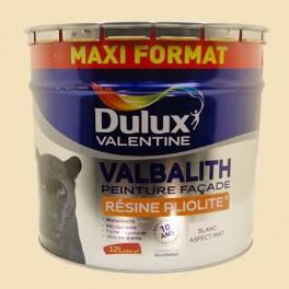 dulux valentine peinture facade valbalith 12l ton pierre