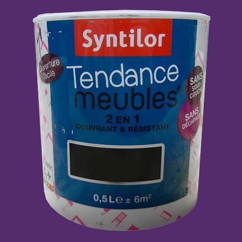 Syntilor Peinture Tendance Meuble Effet Laqué Gris Béton