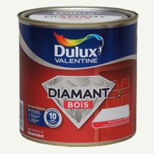 Peinture DULUX VALENTINE Diamant Bois Blanc Cass Pas Cher