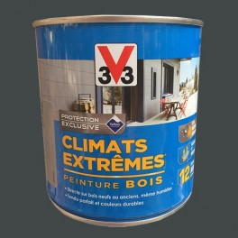 v33 peinture bois climats extremes mat anthracite
