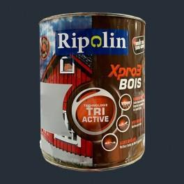 ripolin peinture acrylique xpro3 tri active bois gris anthracite