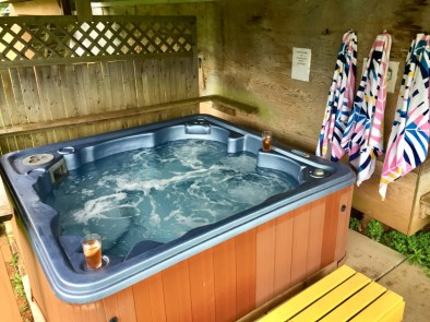 Hot tub long shot