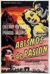 Cartel de la película Abismos de pasión