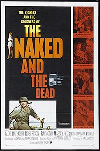 Cartel de la pelicula Los desnudos y los muertos
