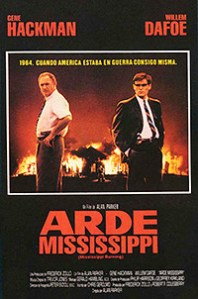 Cartel de la pelicula Arde Mississippi