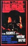 Cartel de la película El sádico de Notre-Dame