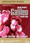 """Cartel de la película Galileo """"La vida de Galileo"""""""