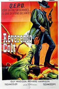 Cartel de la pelicula Reverendo colt