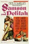 Cartel de la pelicula Sanson y Dalila