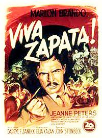Cartel de la pelicula Viva Zapata