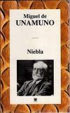 Cartel del libro Niebla, de Miguel de Unamuno