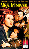 Cartel de la película La señora Miniver
