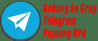 Gabung Telegram PejuangHPA