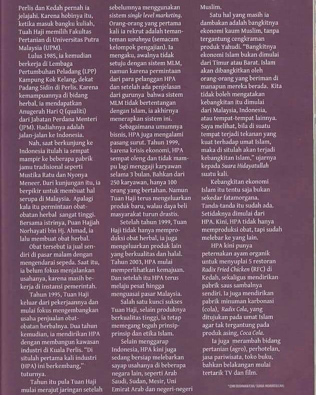 Tuan Haji di Majalah Hidayatullah 2
